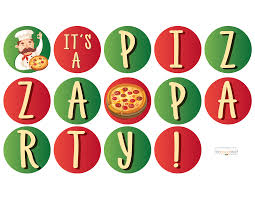 hostess helpers free pizza party printables thegoodstuff
