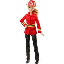 halloween barbie barbie careers firefighter doll walmart com
