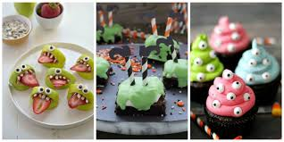Easy To Make Halloween Snacks by 31 Halloween Snacks For Kids Recipes For Childrens Halloween