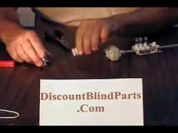 Window Blinds Hardware John Sitko Replace Blind Parts Vertical Track Repair Hunter