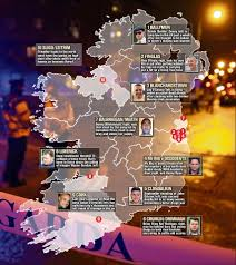 Mob Of The Dead Map The Lethal New Gangland Feuds And Young Hoods Striking Fear In