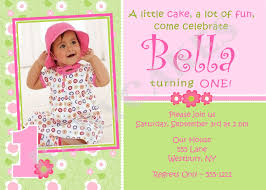 baby first birthday invitations