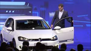 volkswagen purple how vw is charging forward with its e golf touch and budd e