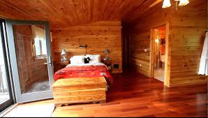33641 catskills log home bed room with view youtube