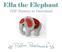 pdf sewing patterns puffin patchwork