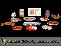 cuisine sims 3 kitchen clutter part 2 by tankuz sims 3 downloads cc caboodle