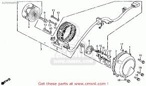 honda cb650 1981 b usa alternator schematic partsfiche