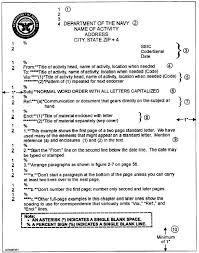 standard letter format usmc letter pinterest business letter