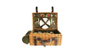 picnic basket for 2 up to 38 on picnic pack willow picnic bas groupon goods