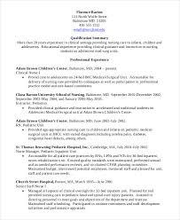 perfect design nursing student resume examples exclusive
