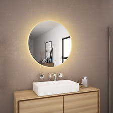 bathroom round mirror wall mounted bathroom mirrors ebay