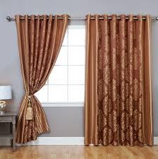 98 Drapes Curtains Drapes Wayfair Wide Width Damask Jacquard Grommet Curtain