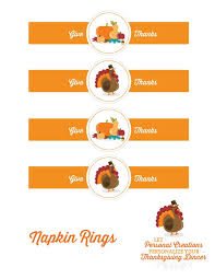 add a personal touch to your thanksgiving celebrations we
