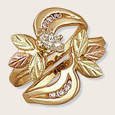 gold bridal sets landstroms black gold wedding jewelry wedding rings bands