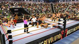 wrestling revolution 3d android apps on google play