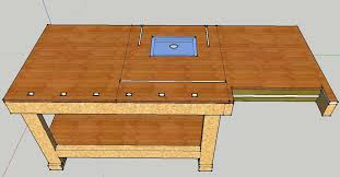 Coffee Table Into Bench Ideas For Integrating Router Table Into Bench Router Forums