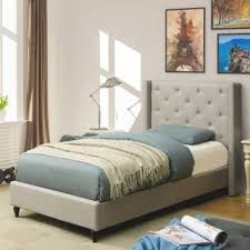 twin size platform bed for less overstock com