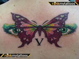 n butterfly design on back butterflies moths
