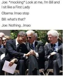 Obama Bill Clinton Meme - techiewheels provides the rare and unseen photos of young bill