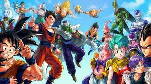 android 18 and cell anime vegeta majin boo trunks character