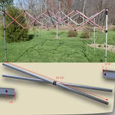 Quik Shade Summit 10x10 Instant Canopy by Quik Shade Weekender Elite 12 U0027 X 12 U0027 Canopy Side Truss Bar