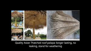 Mexican Thatch Roofing by A Crafted Thatching Roofs Of Building Palm Thatch Re Thatched Reed