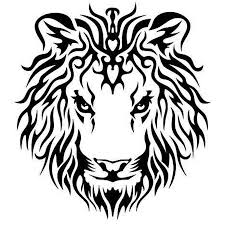 lion head tribal tattoo designs pictures to pin on pinterest