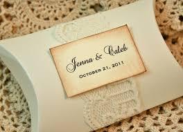 personalized wedding favor boxes diy idea diy favor boxes vintage personalized pillow boxes