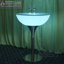 Led Bistro Table Luxury Design Led Glow Bistro Bar Table Buy Led Bistro Table