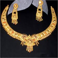 new gold set fashion gold jewellery set