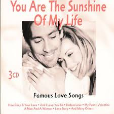 you are the sunshine of my life famous love songs the moonlight