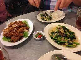 sen cuisine dinner at tek sen picture of tek sen restaurant george town