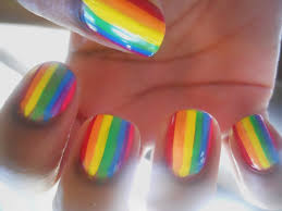 rainbow nail polish latest nail art designs 2016 wedding