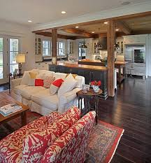 decorating ideas for open living room and kitchen kitchen and living room design ideas interesting