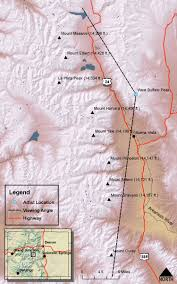 Map Of Colorado 14ers by Hayden U0027s Landscapes Revisited Sawatch Clear Creek
