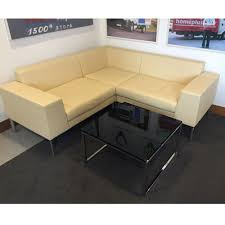 LAYLA Designed By Boss Design Leather Sofa Matching Office Sofa - Office sofa design