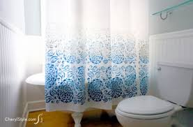 Design Your Own Shower Curtain 16 Easy Diy Shower Curtains In All Color And Styles Shelterness