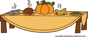 Thanksgiving Feast Clip Food Clipart Thanksgiving Dinner Pencil And In Color Food