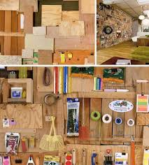 wood wall design and storage idea offering alternative storage and