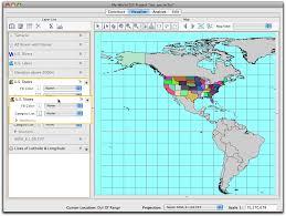 United States Longitude Latitude Map by Intro To My World