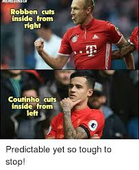 Robben Meme - memesinsta robben cuts inside from right coutinho cuts inside from