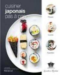 cuisiner japonais pas à pas jody vassallo babelio