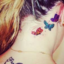 butterfly on side neck for side neck butterfly