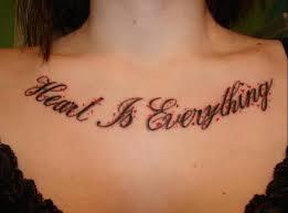 women chest tattoos quotes jpg 700 519 tats pinterest
