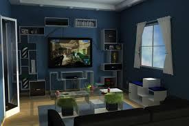 navy blue living room decor home design