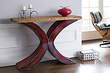 X Console Table Console Tables Made By Furniture Artists Artful Home