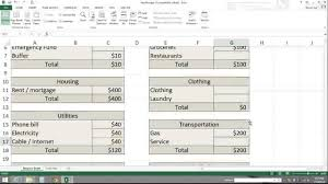How To Use A Spreadsheet How To Make A Spreadsheet For Monthly Bills Laobingkaisuo Com