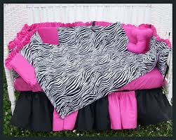 Pink Zebra Crib Bedding Pink And Black Zebra Bedding 26 Desktop Background