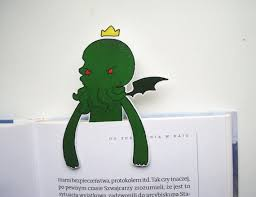 items similar to cthulhu bookmark hp lovecraft statue