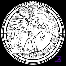 pony coloring pages princess luna http east color
